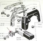 Haltebügel für Bremsklotzhalter