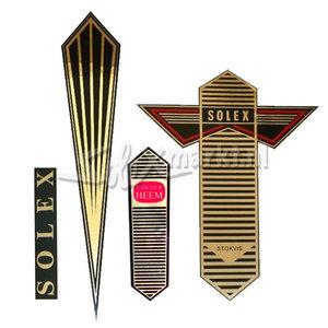 Aufkleber Set - Solex Oto - Gold Streifen