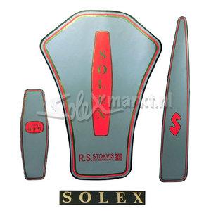 Aufkleber Set - Solex Oto - Creme