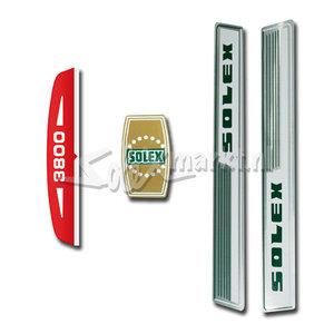 Aufkleber Set - Solex 3800   Solex 5000