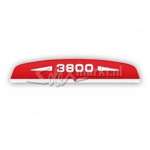 Aufkleber Luftfilter-Haube Solex 3800