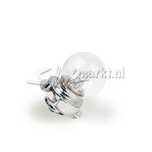 Glühlampe weiß - groß model!