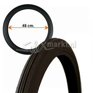 Solex Reifen 19'' - Schwarz