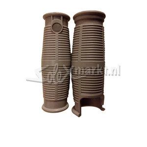 Gummihandgriffe für Solex 3800-5000 - (Hellgrau)