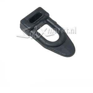 Lichtmaschinendeckel-Gummischlaufe schwarz