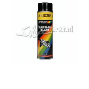 Sprühfarbe - Schwarz hochglanz
