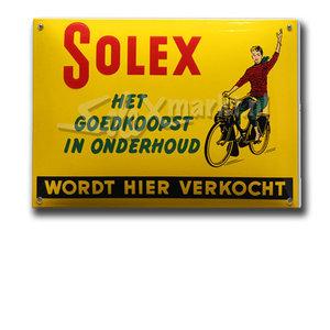 Solex emaille Platte - (14x10cm)