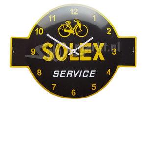 Solex emaille Uhr - (53x40cm)